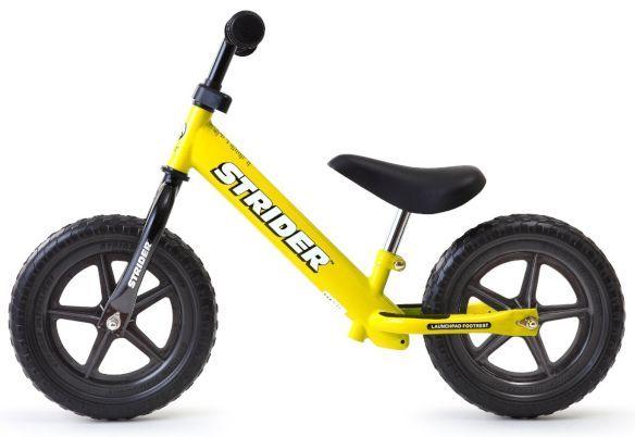幼児用の自転車ストライダー